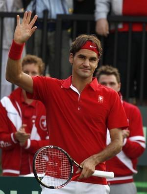 Roger Federer, Copa Davis (Foto: Reuters)