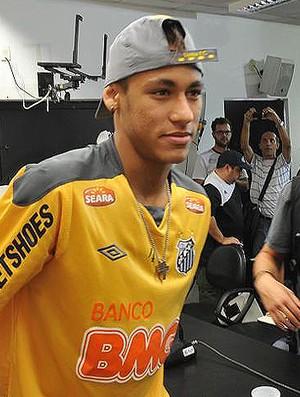 neymar santos (Foto: Wagner Eufrosino/GLOBOESPORTE.COM)