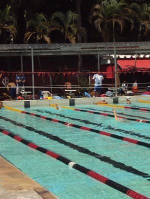 piscina do flamengo (Foto: Lydia Gismondi/Globoesporte.com)
