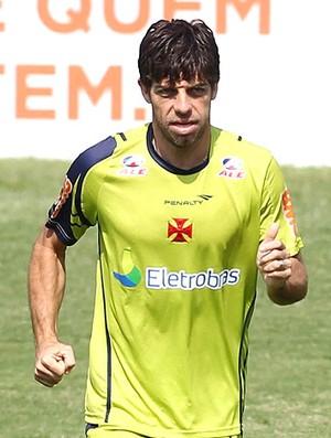 Juninho no treino do Vasco (Foto: Alexandre Cassiano / Agência O Globo)