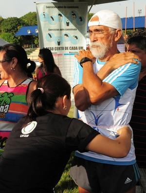 Fundação Vila Olímpica de Manaus abriu as portas para a comunidade com o projeto Domingo na Vila (Foto: Divulgação/Agecom )