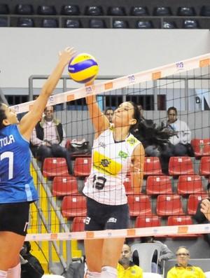 Sheilla MVP Sul-Americano (Foto: Divulgação / CBV)