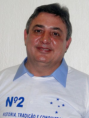 Zezé Perrella, presidente do Cruzeiro (Foto: Fernando Martins / Globoesporte.com)