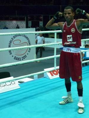 Robson Conceição Mundial de Boxe (Foto: Divulgação)