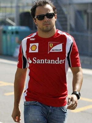 Felipe Massa, GP do Japão (Foto: Reuters)