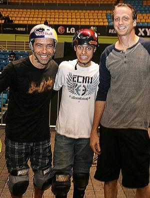 Tony Hawk skate sandro dias (Foto: Roberto Tatto/Divulgação)