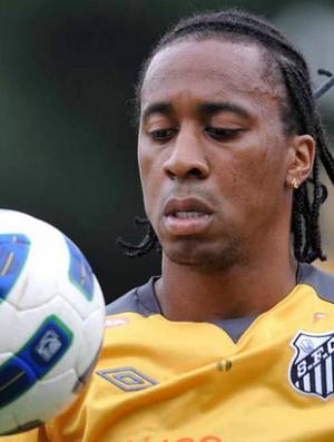 Arouca, em treino do Santos (Foto: Ivan Storti/Divulgação Santos FC)