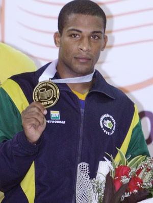 Everton Lopes, Campeão Mundial de Boxe 64kg (Foto: Reuters)