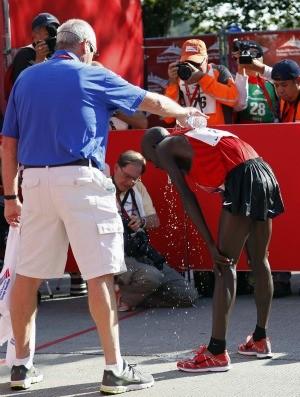Corrida Maratona de Chicago (Foto: Reuters)