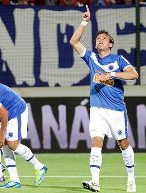 Keirrison gol Cruzeiro (Foto: Washington Alves / VIPCOMM)
