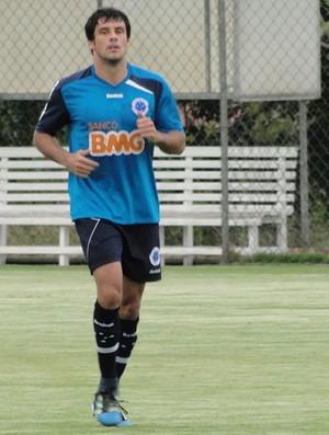 Fabrício, volante do Cruzeiro (Foto: Fernando Martins/Globoesporte.com)