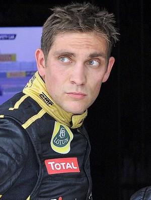 Vitaly Petrov GP da Coreia do Sul Yeongam (Foto: AFP)