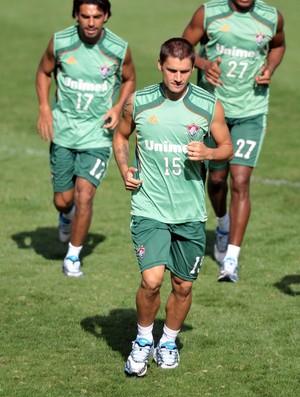 Rafael Sobis treina nas Laranjeiras (Foto: Dhavid Normando/Photocamera)