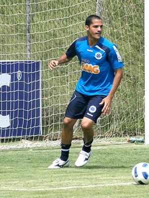 Anselmo ramon cruzeiro treino (Foto: Fernando Martins / Globoesporte.com)