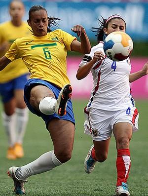 rosana brasil x costa rica pan-americano futebol (Foto: Reuters)