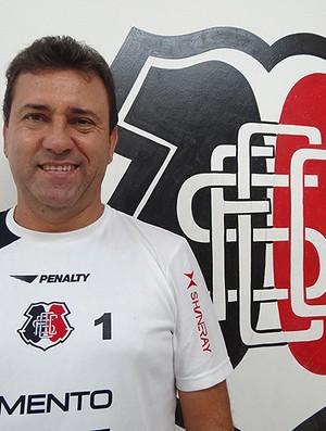 Zé Teodoro técnico Santa Cruz (Foto: Globoesporte.com)
