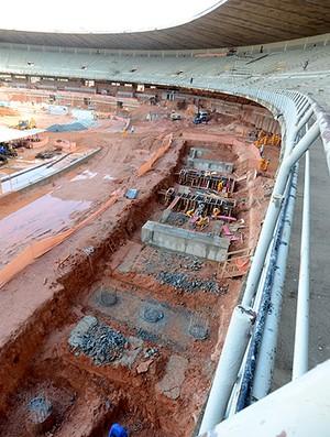 Obras estádio mineirão  (Foto: Sylvio Coutinho / Divulgação)