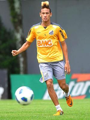 Neymar no treino do Santos (Foto: Ivan Storti / Santos FC)