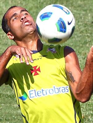 Felipe no treino do Vasco (Foto: Ivo Gonzalez / Agência O Globo)