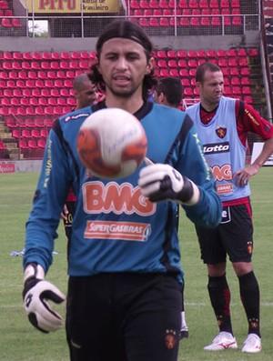 Rodrigo Calaça, goleiro do Sport (Foto: Divulgação / Sport)