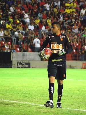 Paulo Rafael, goleiro do Sport (Foto: Divulgação / Sport)