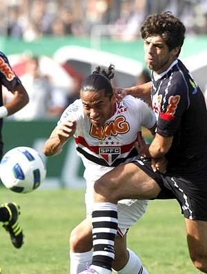 Juninho no jogo do Vasco contra o São Paulo (Foto: Cezar Loureiro / Agência O Globo)
