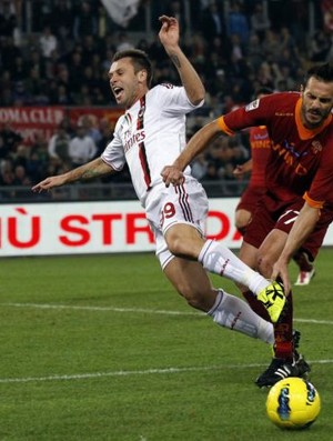 Cassano Milan Roma (Foto: Reuters)