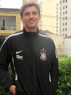 Paulo André, jogador do Corinthians (Foto: Wagner Eufrosino/Globoesporte.com)