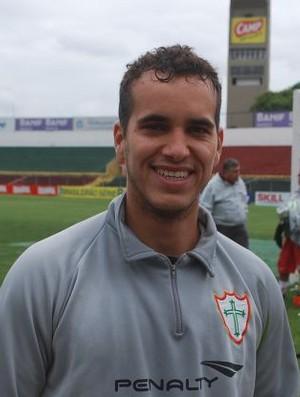 Rai no treino da Portuguesa (Foto: Marcos Guerra/ Globoesporte.com)