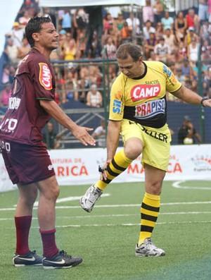 Maciel, jogador de showbol do Fluminense (Foto: Divulgação/Ricardo Cassiano)