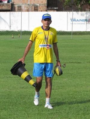 João Carlos já trabalha visando a Copa São Paulo (Foto: João Paulo / Nacional F.C)