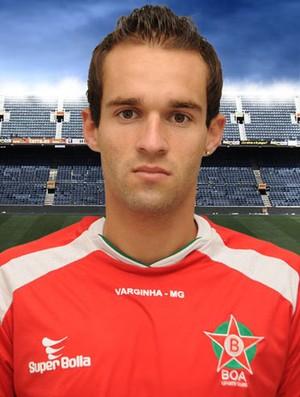 Thiago Carvalho, do Boa, contratado pelo Cruzeiro (Foto: Site oficial Boa Esporte / Divulgação)