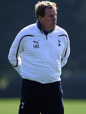 Harry Redknapp treinador do tottenham (Foto: Agência Getty Images)