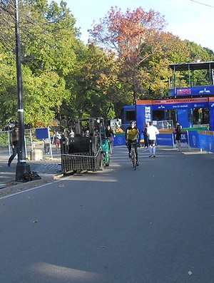 Corrida de rua Central Park (Foto: Luisa Prochnik / Globoesporte.com)