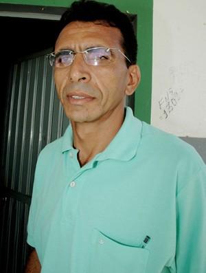 José Ivan, presidente do Nacional de Patos (Foto: Leonardo Silva / Jornal da Paraíba)