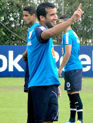 victorino cruzeiro treino (Foto: Fernando Martins / Globoesporte.com)