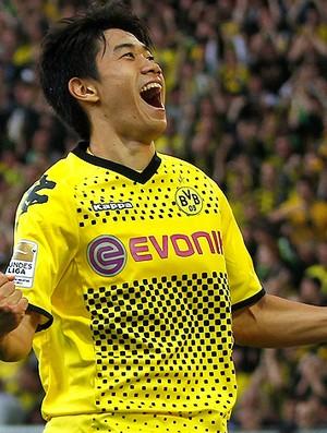 Shinji Kagawa gol  Borussia Dortmund (Foto: Reuters)