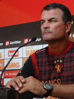 Mazola, técnico do Sport (Foto: Bruno Marinho / GloboEsporte.com)