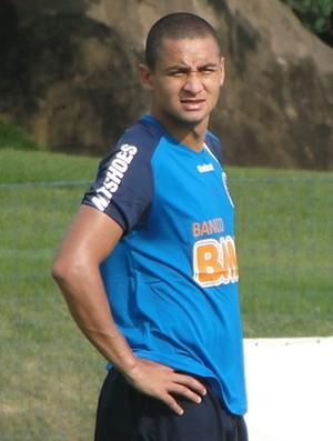 Wellington Paulista, atacante do Cruzeiro (Foto: Fernando Martins/Globoesporte.com)