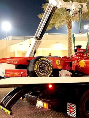 Alonso no treino da F-1 em Abu Dhabi (Foto: Reuters)