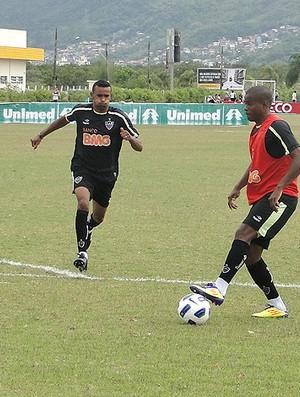 Atlético Mineiro em santa Catarina (Foto: Marco Antônio Astoni / Globoesporte.com)