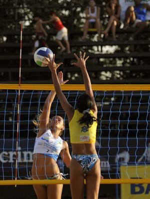 Circuito amazonense de vôlei de praia (Foto: Divulgação/Semdej)