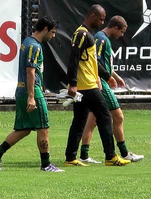 herrera jefferson marcelo mattos botafogo treino (Foto: Fábio leme / Globoesporte.com)
