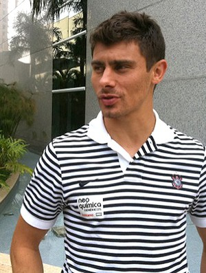 Alex do Corinthians (Foto: Leandro Canônico / Globoesporte.com)