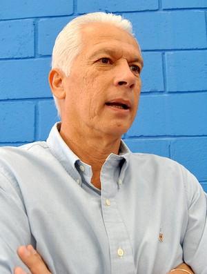 Leão durante entrevista (Foto: João Gabriel Rodrigues / GLOBOESPORTE.COM)