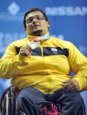 Rodrigo Marques - prata em Guadalajara (Foto: Divulgação/ CDDU - Futel)