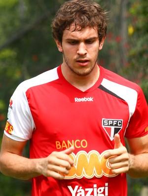 Bruno Uvini será testado no time titular nos coletivos desta semana (Foto: Luiz Pires / VIPCOMM)