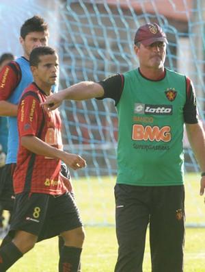 Mazola Júnior - Sport (Foto: Aldo Carneiro)