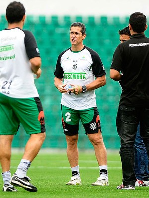 Treino do Figueirense Orlando Scarpelli - Jorginho (Foto: Marcos Ribolli / Globoesporte.com)