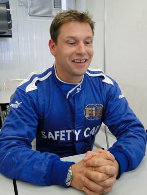 Bernd Maylander, piloto do safety car da Fórmula 1 (Foto: Rafael Lopes/GLOBOESPORTE.COM)